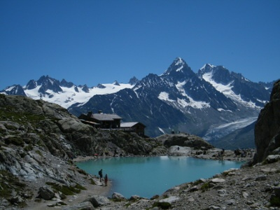 Lac Blanc par Flegere - Virage Montagne Trekking