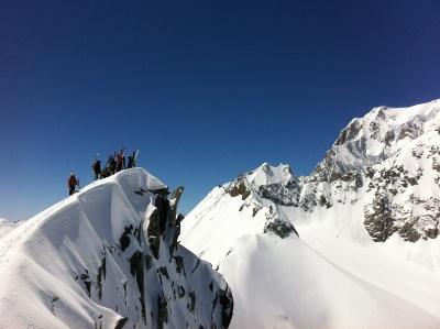 Ski de Rando Grand Croisse Baulet - Virage Montagne Trekking