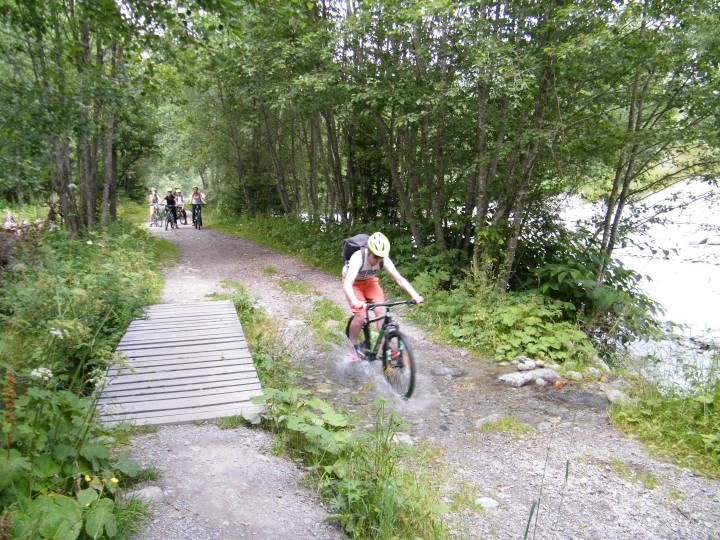Descente Petit Balcon Nord Chamonix - VTT - Virage Montagne