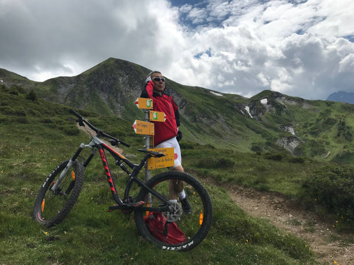 Journée enduro entre France et Suisse - VTT - Virage Montagne