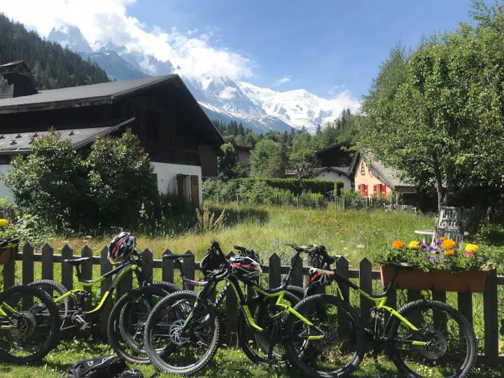 Journée VTT Electrique Chamonix - Virage Montagne